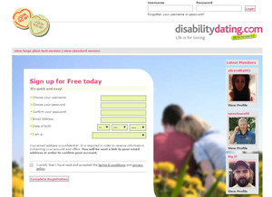 Handicap dating website